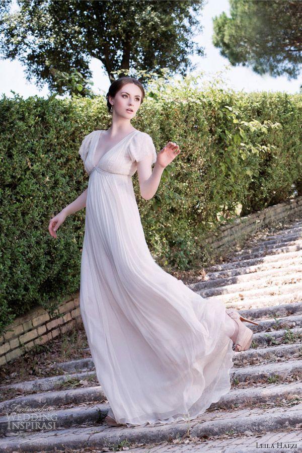 Panna Młoda w sukni empire