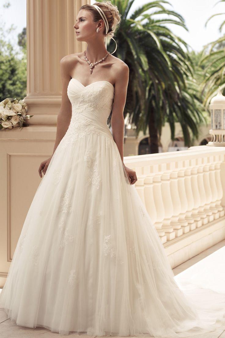 idealna suknia ślubna w kształcie litery A