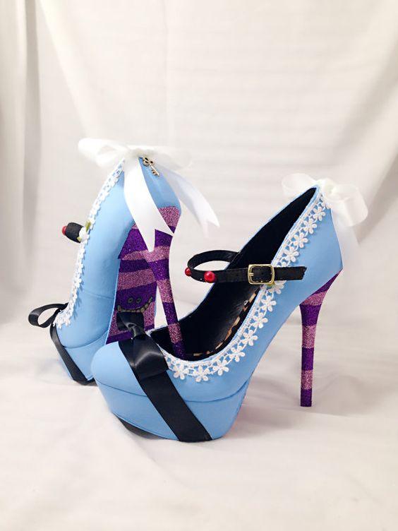 Buty ślubne z motywem baśniowym