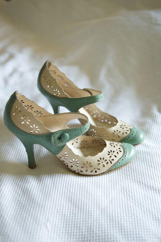 Buty ślubne w stylu vintage