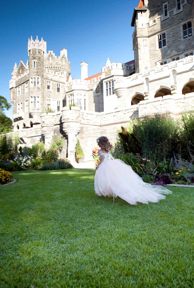 Ślub w stylu średniowiecznym