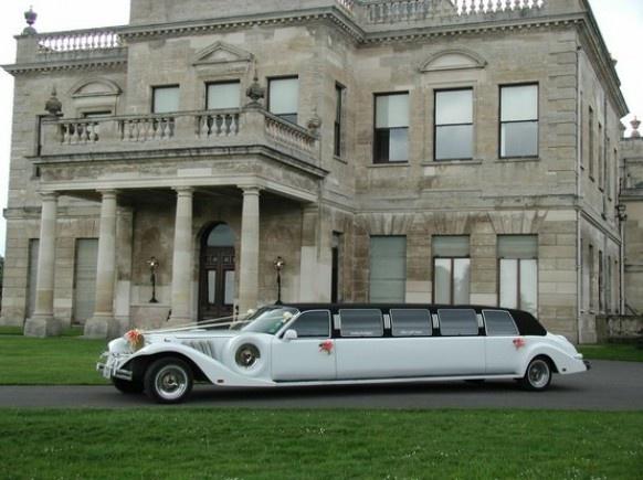 auto do ślubu limuzyna