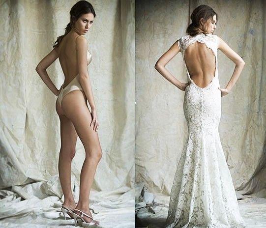 bielizna ślubna dopasowana do sukni slubnej