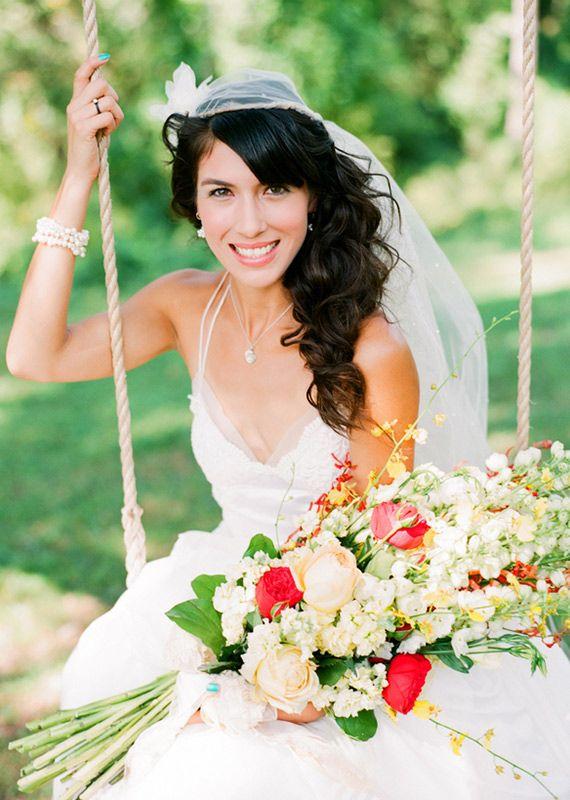 bukiet ślubny arm bouquet