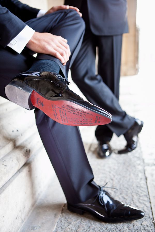 buty ślubne pana młodego a długość nogawek