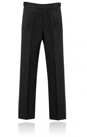 czarne spodnie od smokingu