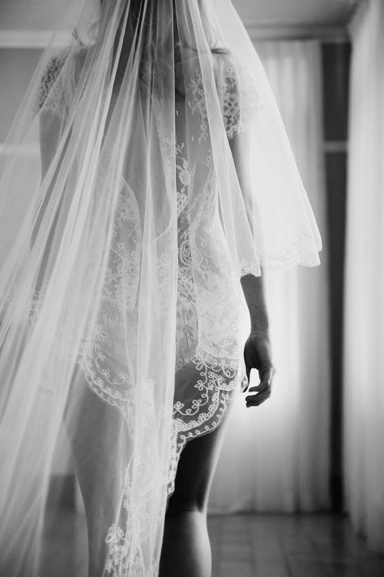 długi welon ślubny