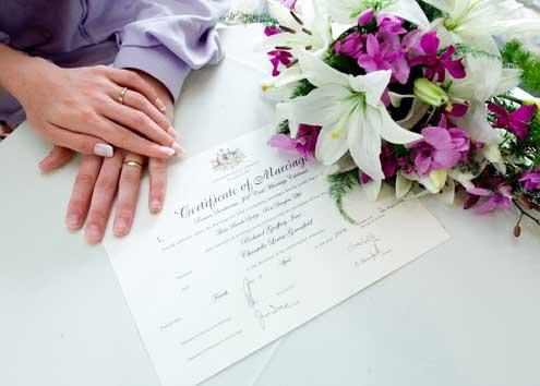 dokumenty ślubne