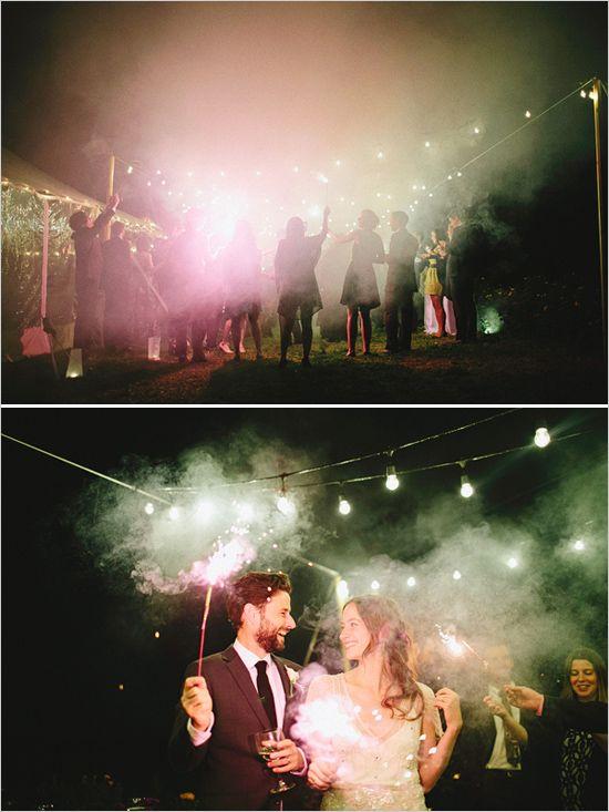 fajerwerki i sztuczne ognie na weselu