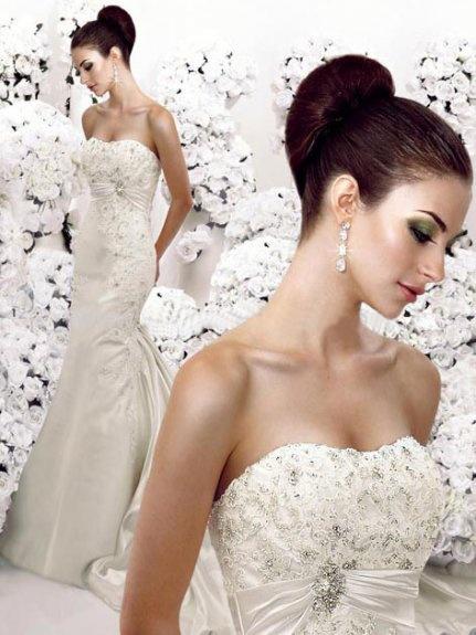 fryzura dobrana do sukni ślubnej