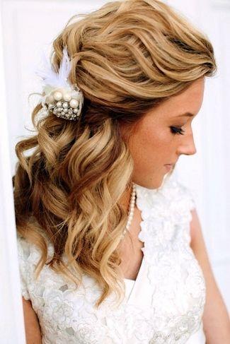 fryzura ślubna przy długiej szyi