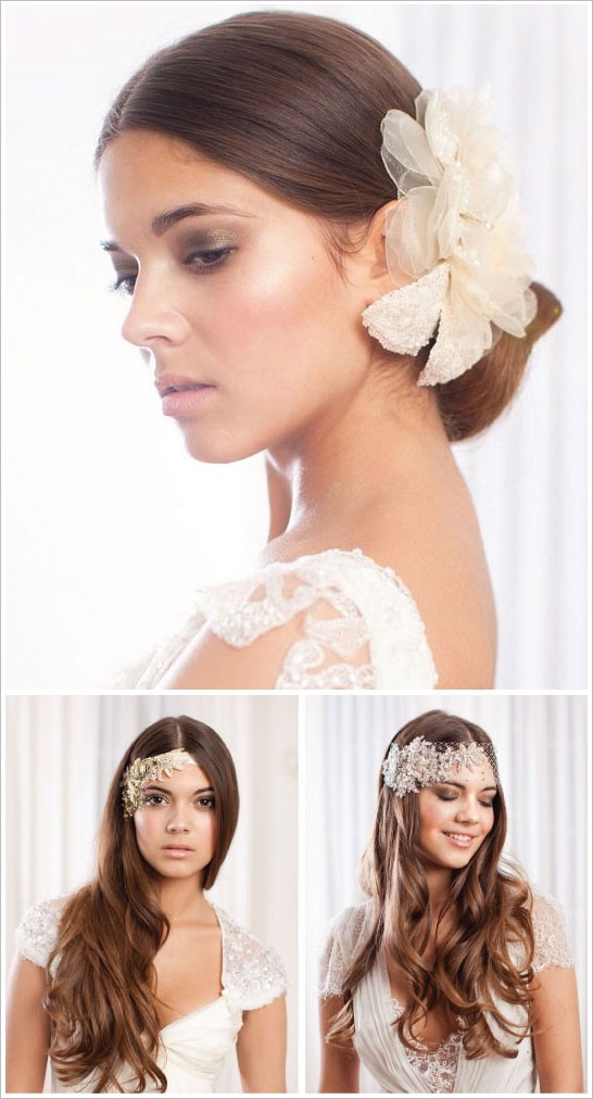 fryzury na ślub dla Panny Młodej
