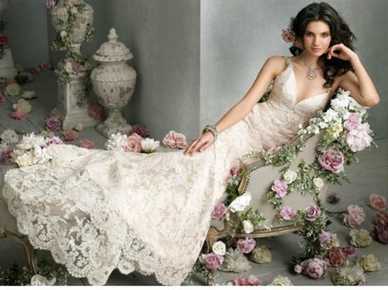 historia sukni ślubnej