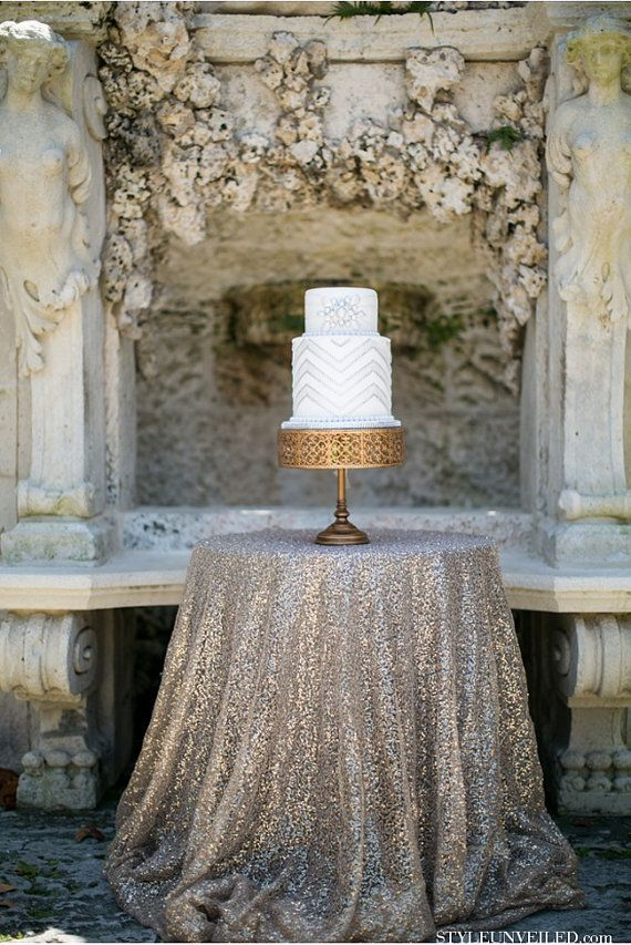 inspiracje weselne w złocie i srebrze