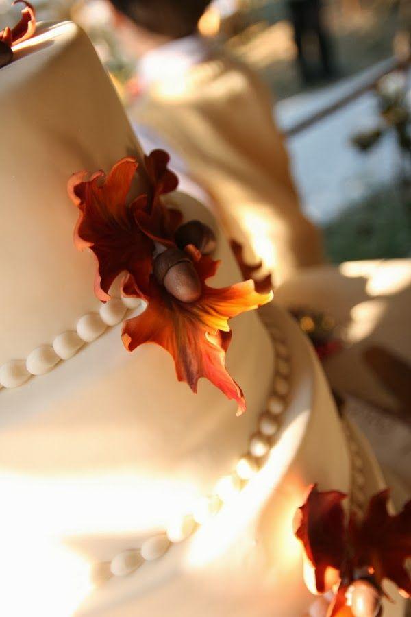 tort jesienny na wesele