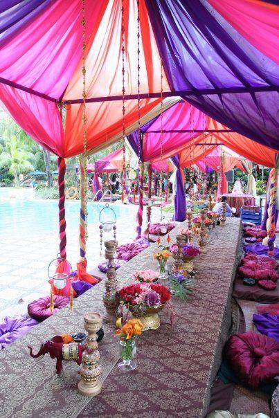 kolory na indyjskim weselu