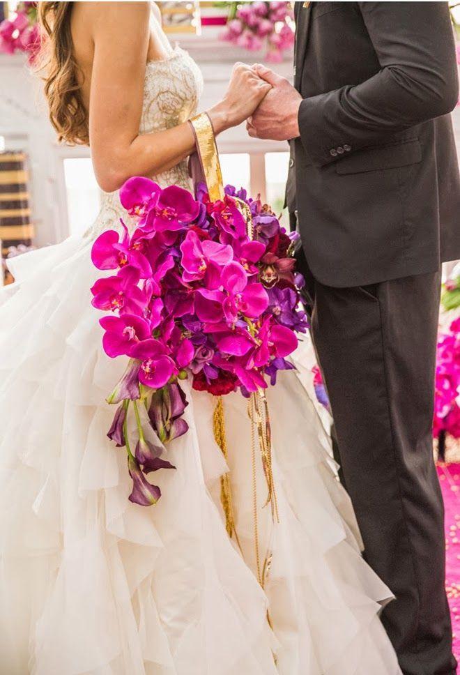 kwiatowa torebka na ślub