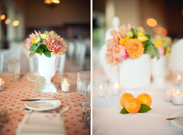 kwiaty na sali weselnej