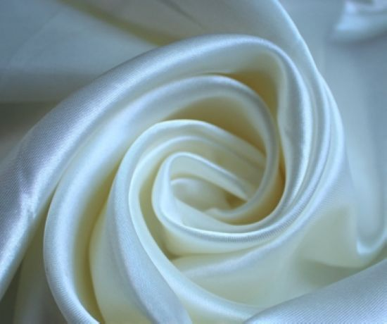 materiał na suknię ślubną