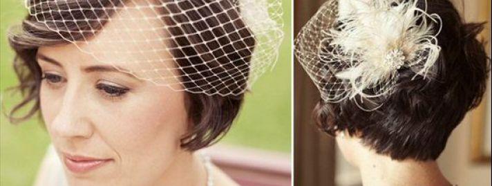 Najpiękniejsze Fryzury ślubne Z Krótkich Włosów Urzekająca