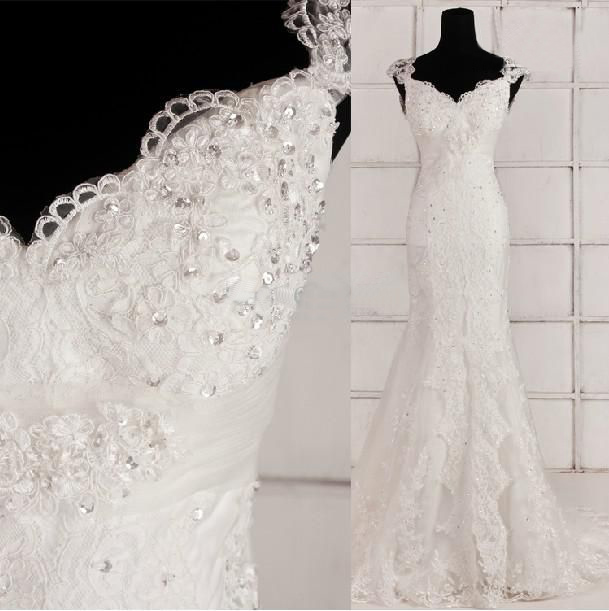 ozdoby na sukni ślubnej