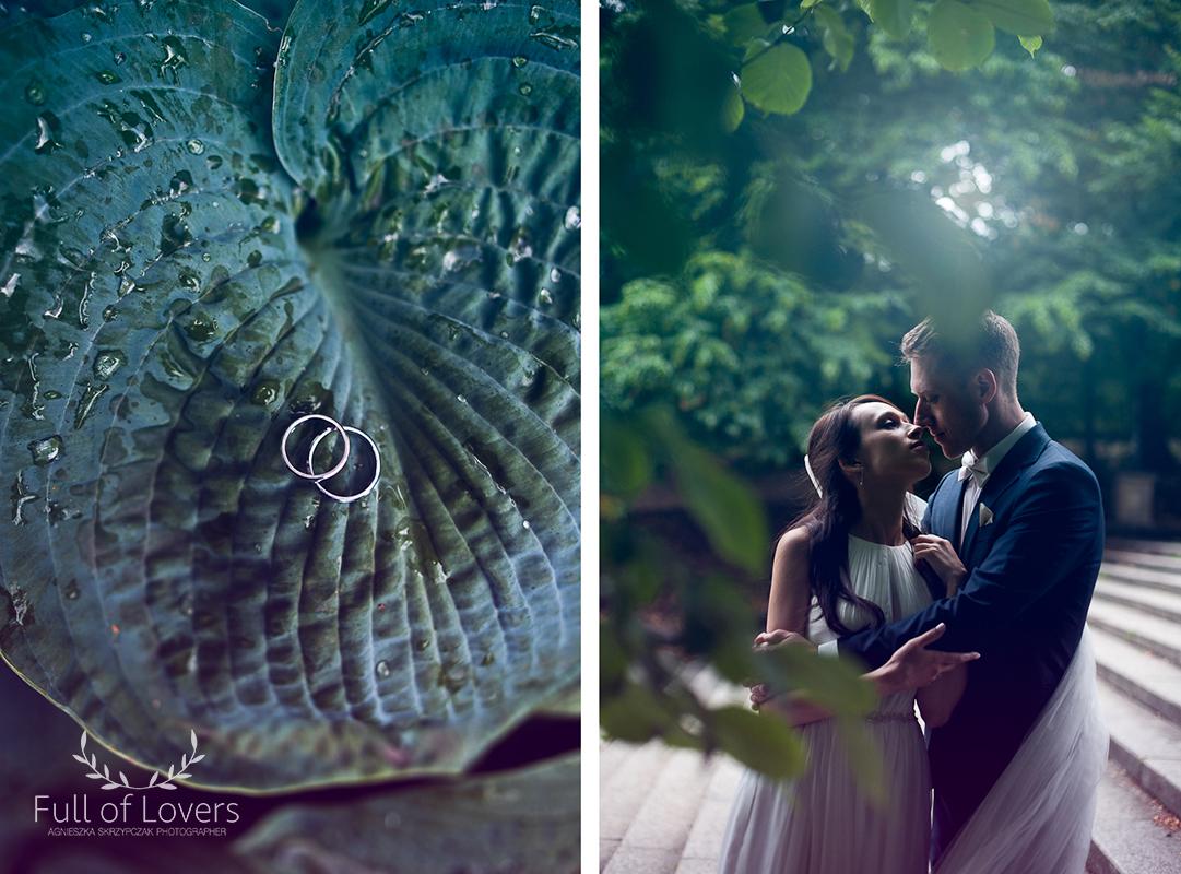 Para Młoda w ogrodzie botanicznym