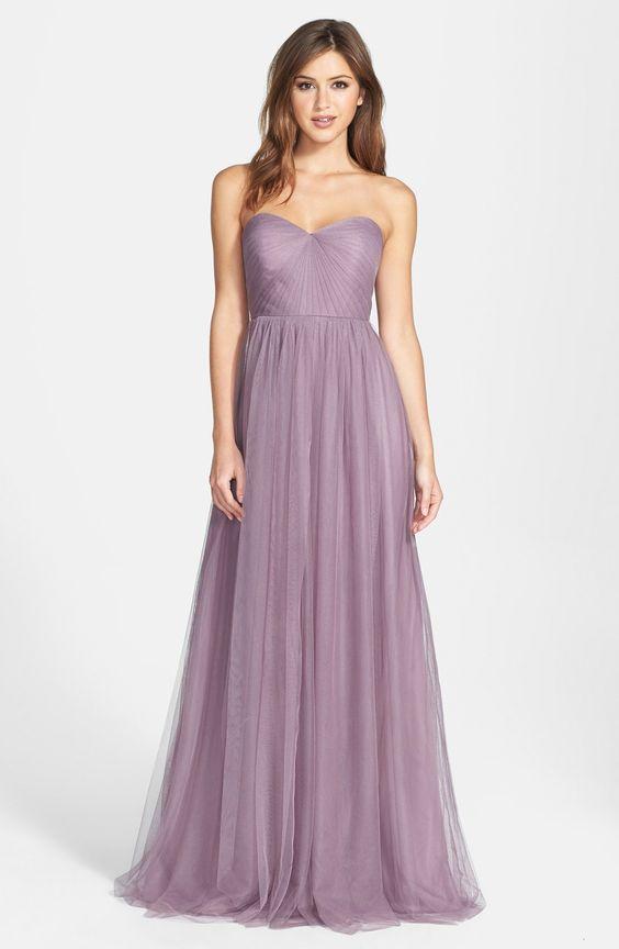 Fioletowa suknia ślubna - do oliwkowej karnacji