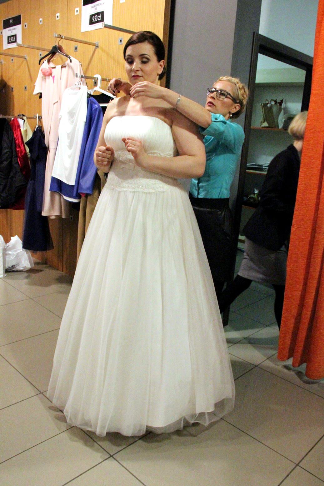 Stylizacja ślubna w rozmiarze plus size