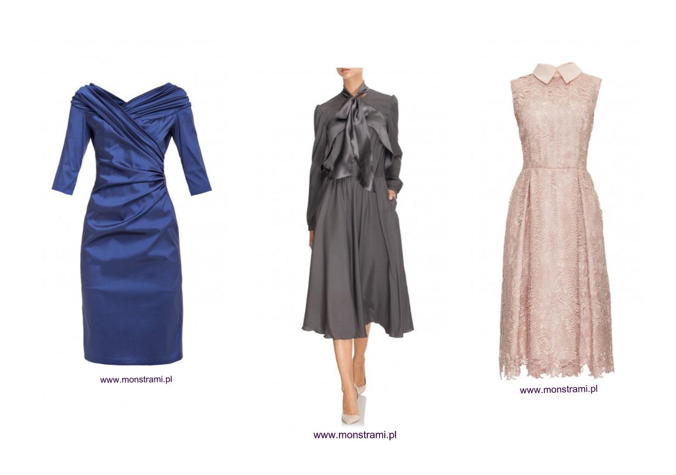 Suknie dla Mamy Panny Młodej