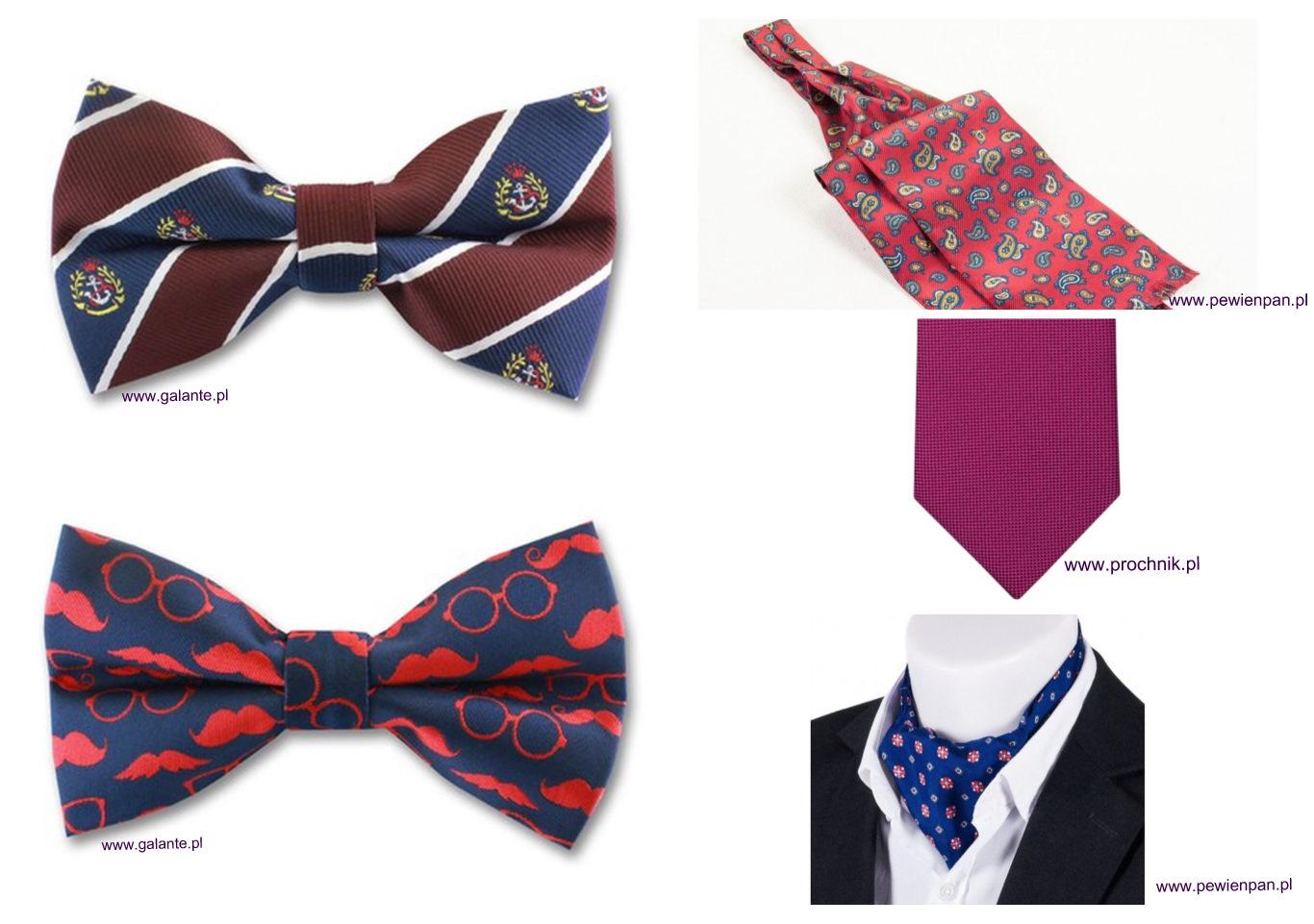 Krawat lub mucha dla Pana Młodego