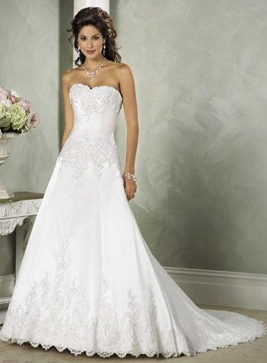 suknia ślubna litera A