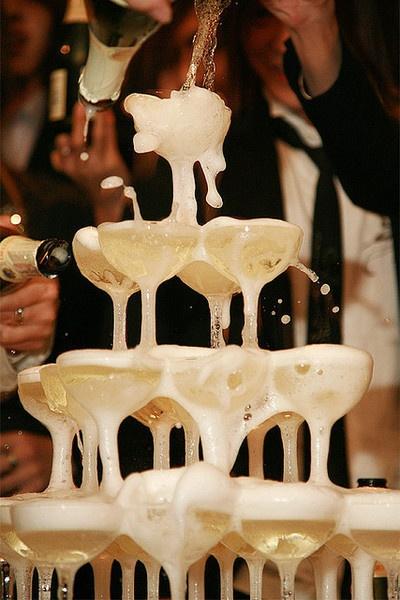 toasty weselne z szampana