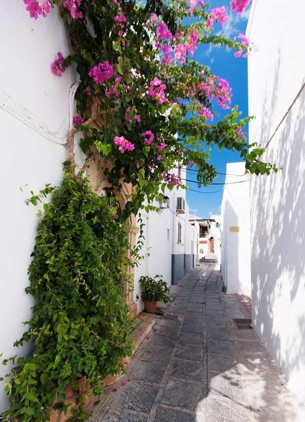 uliczka w Rodos