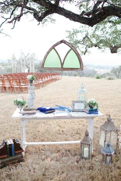 wesele w plenerze styl vintage