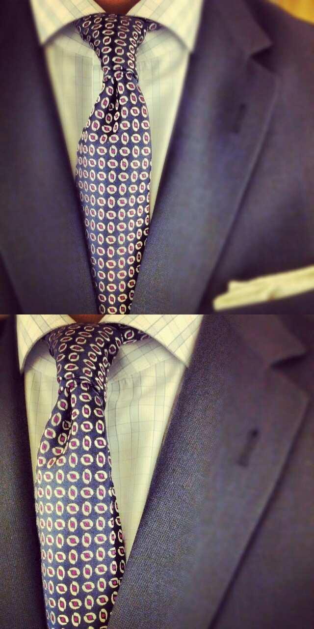węzeł four-in-hand wiązanie krawata