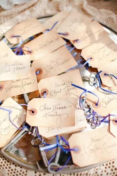 winietki na wesele chabrowy kolor