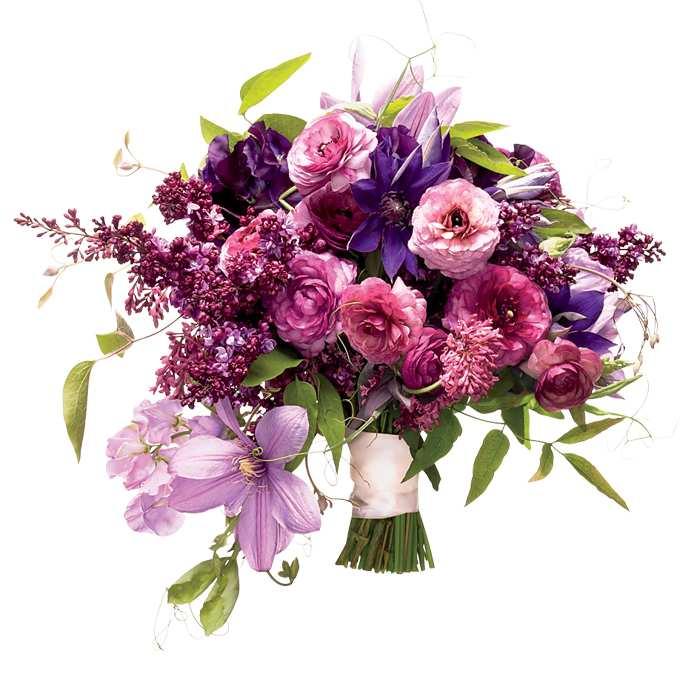 wiosenna kompozycja kwiatowa z bzu na ślub