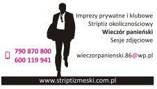 wieczór panieński, striptiz męski  -  Łódź  -  łódzkie