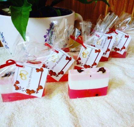 Podziękowania dla gości. Mydełka personalizowane  -  Góra Kalwaria  -  mazowieckie